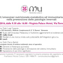 L'omeostasi nutrizionale-metabolica ed immunitaria nella prevenzione delle patologie invernali
