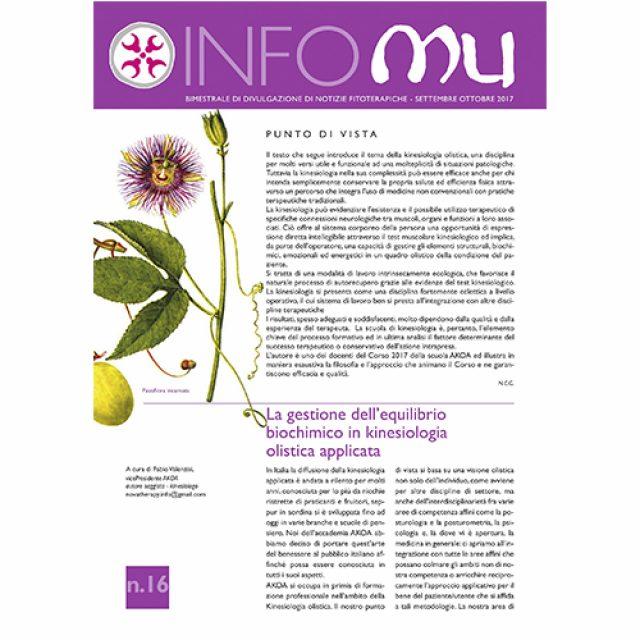 INFOMU n.16 Settembre / Ottobre 2017
