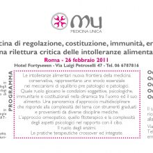 Medicina di regolazione, costituzione, immunità, enzimi: una rilettura critica delle intolleranze alimentari