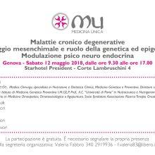 Malattie cronico degenerative; Drenaggio mesenchimale e ruolo della genetica ed epigenetica; Modulazione psico neuro endocrina
