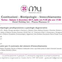 Costituzioni – Biotipologie – Invecchiamento